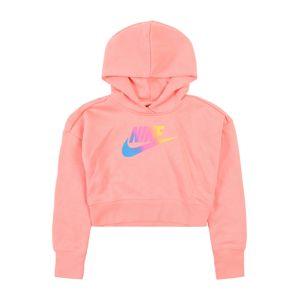 Nike Sportswear Mikina 'G NSW FF CROP'  pink