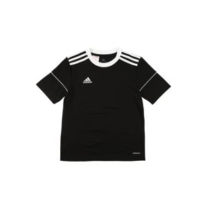 ADIDAS PERFORMANCE Funkční tričko 'Squadra'  bílá / černá