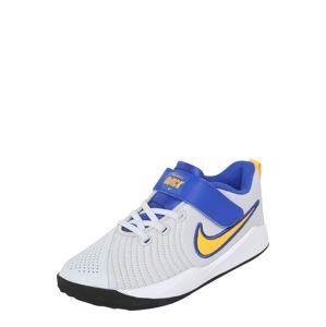 NIKE Sportovní boty 'Team Hustle Quick 2'  modrá / světle šedá / bílá