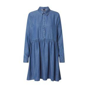 VERO MODA Košilové šaty 'Libbie'  modrá džínovina