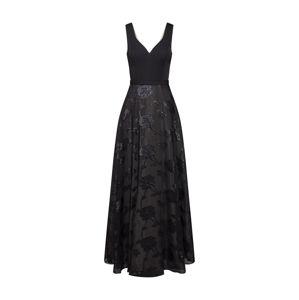 Unique Společenské šaty  tmavě zelená / černá