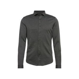 DRYKORN Košile 'SOLO'  černá / bílá