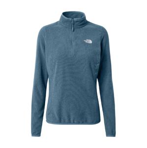 THE NORTH FACE Sportovní svetr '100 Glacier'  kouřově modrá / noční modrá / bílá
