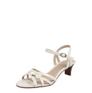 ESPRIT Páskové sandály 'Birkin'  bílá