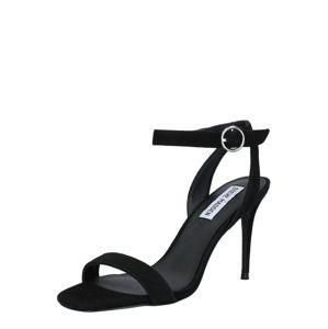 STEVE MADDEN Sandály  černá