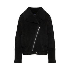 MINKPINK Zimní bunda 'ALISSA SHERPA'  černá