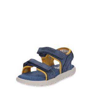 TIMBERLAND Otevřená obuv 'Nubble L/F 2 Strap Sandal'  modrá