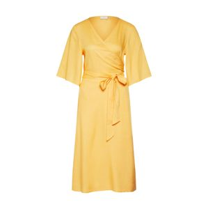 Kaffe Letní šaty 'Isabel'  žlutá / stříbrná
