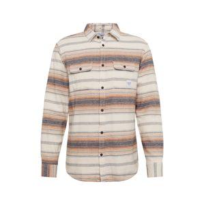 Only & Sons Košile 'ALEX'  světle hnědá / krémová / chladná modrá / pastelově oranžová / béžová