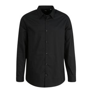 BURTON MENSWEAR LONDON (Big & Tall) Společenská košile  černá
