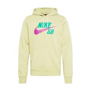 Nike SB Mikina  orchidej / zelená / světle zelená