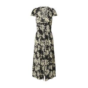 Whistles Košilové šaty 'STARBURST'  bílá / černá
