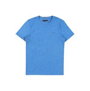 TOMMY HILFIGER Tričko 'Essential Tee'  bílá / modrá / námořnická modř / červená