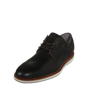 BULLBOXER Šněrovací boty 'Derby Sportiv'  černá