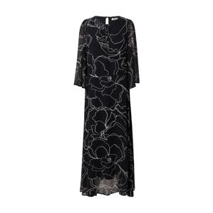InWear Šaty  černá / bílá