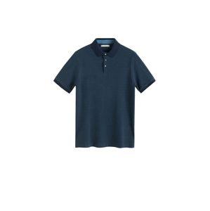 MANGO MAN Tričko 'Mojo'  námořnická modř / chladná modrá