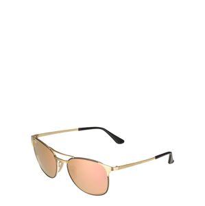 Ray-Ban Sluneční brýle 'Signet'  zlatá / černá