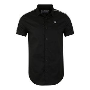 SikSilk Košile  černá