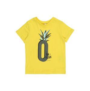 ESPRIT Tričko  žlutá / šedá