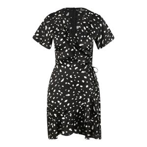 Missguided (Tall) Košilové šaty  černá / bílá
