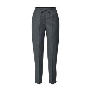 Calvin Klein Kalhoty se sklady v pase 'DRAWSTRING'  tmavě šedá