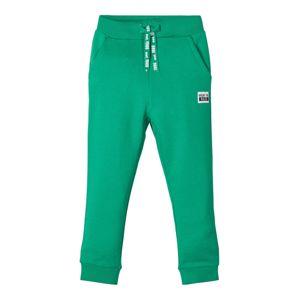 NAME IT Kalhoty  tmavě zelená
