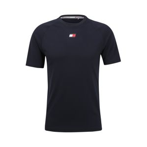 Tommy Sport Funkční tričko  noční modrá