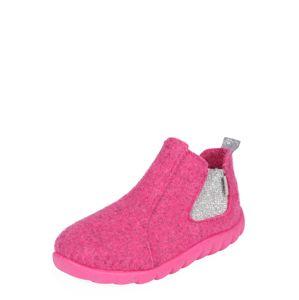 RICHTER Pantofle 'Filz atlantic'  pink