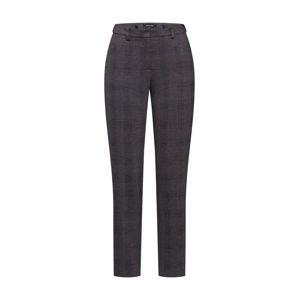 MORE & MORE Chino kalhoty 'Hedy'  světle hnědá / černá