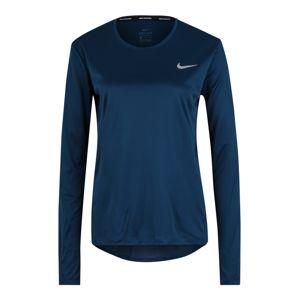 NIKE Funkční tričko 'MILER'  tmavě modrá