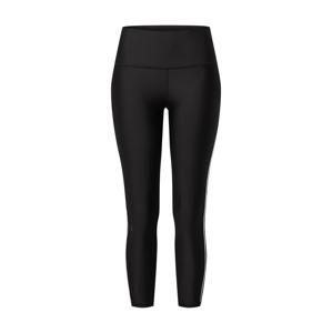 UNDER ARMOUR Sportovní kalhoty  černá / bílá / zlatá