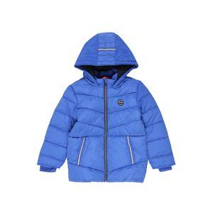 s.Oliver Junior Zimní bunda  modrá / bílá / černá