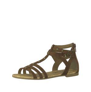 S.Oliver Páskové sandály  hnědá
