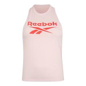 REEBOK Sportovní top  pastelově růžová / oranžově červená