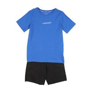 Calvin Klein Underwear Pyžamo  černá / modrá