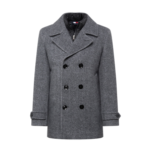 TOMMY HILFIGER Přechodný kabát  šedá