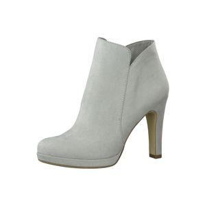 TAMARIS Kotníkové boty  světle šedá