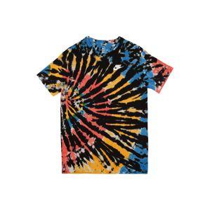 NIKE Funkční tričko  černá / mix barev