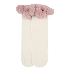 Swedish Stockings Ponožky 'Ebba'  růžová / béžová