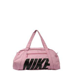 NIKE Sportovní taška 'Gym Club'  růžová / černá