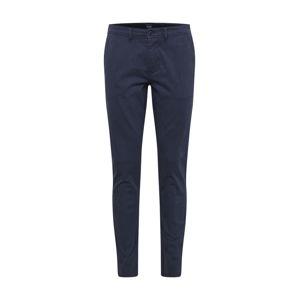 BOSS Kalhoty  modrá