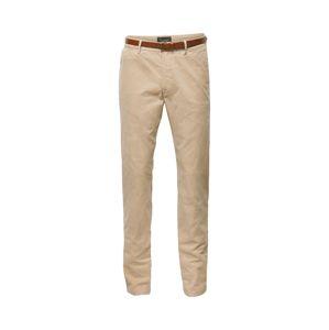 SCOTCH & SODA Chino kalhoty '99019980099-97'  písková