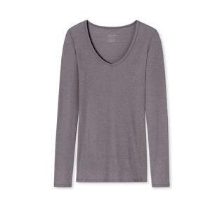 SCHIESSER Tričko na spaní  tmavě šedá