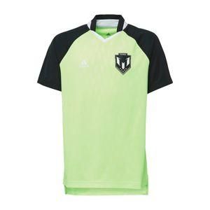 ADIDAS PERFORMANCE Funkční tričko  černá / kiwi