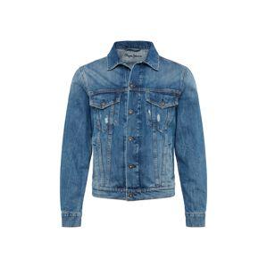 Pepe Jeans Přechodná bunda 'Pinner'  modrá džínovina