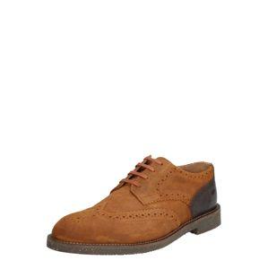 Hudson London Sportovní šněrovací boty 'KARTER BROG W'  hnědá