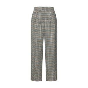 JUST FEMALE Kalhoty 'Holmes wide trousers'  béžová / tmavě šedá