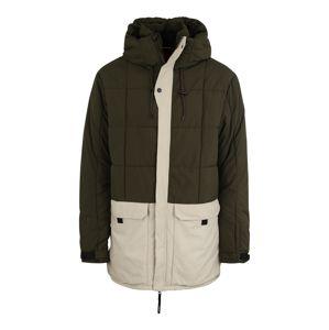 O'NEILL Outdoorová bunda 'PM XPLR PARKA'  béžová / tmavě zelená