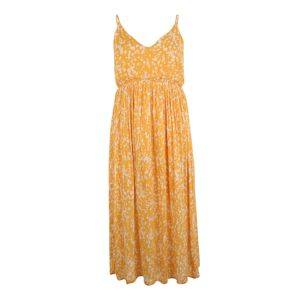 ABOUT YOU Curvy Letní šaty 'Anna'  žlutá / bílá
