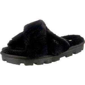 UGG Pantofle 'FUZZETTE'  černá